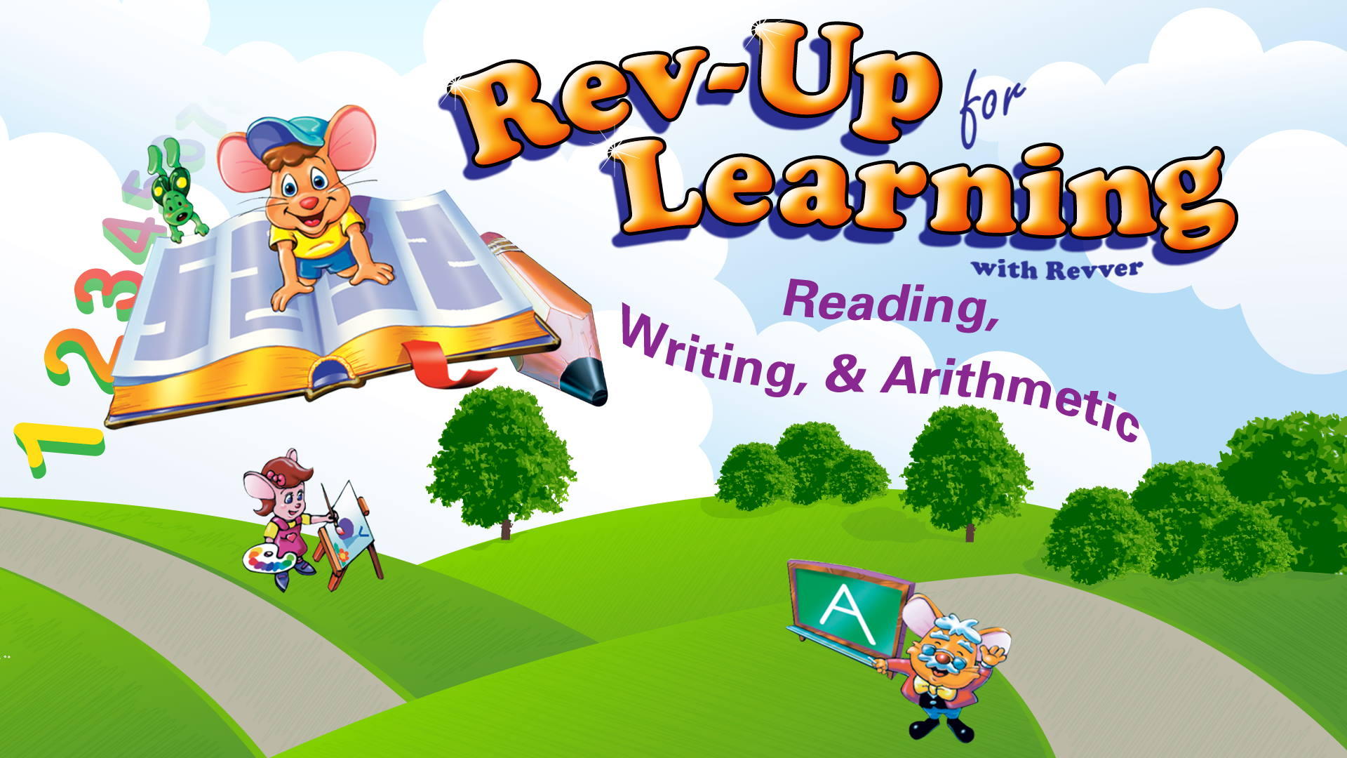 Rev-Up For Reading