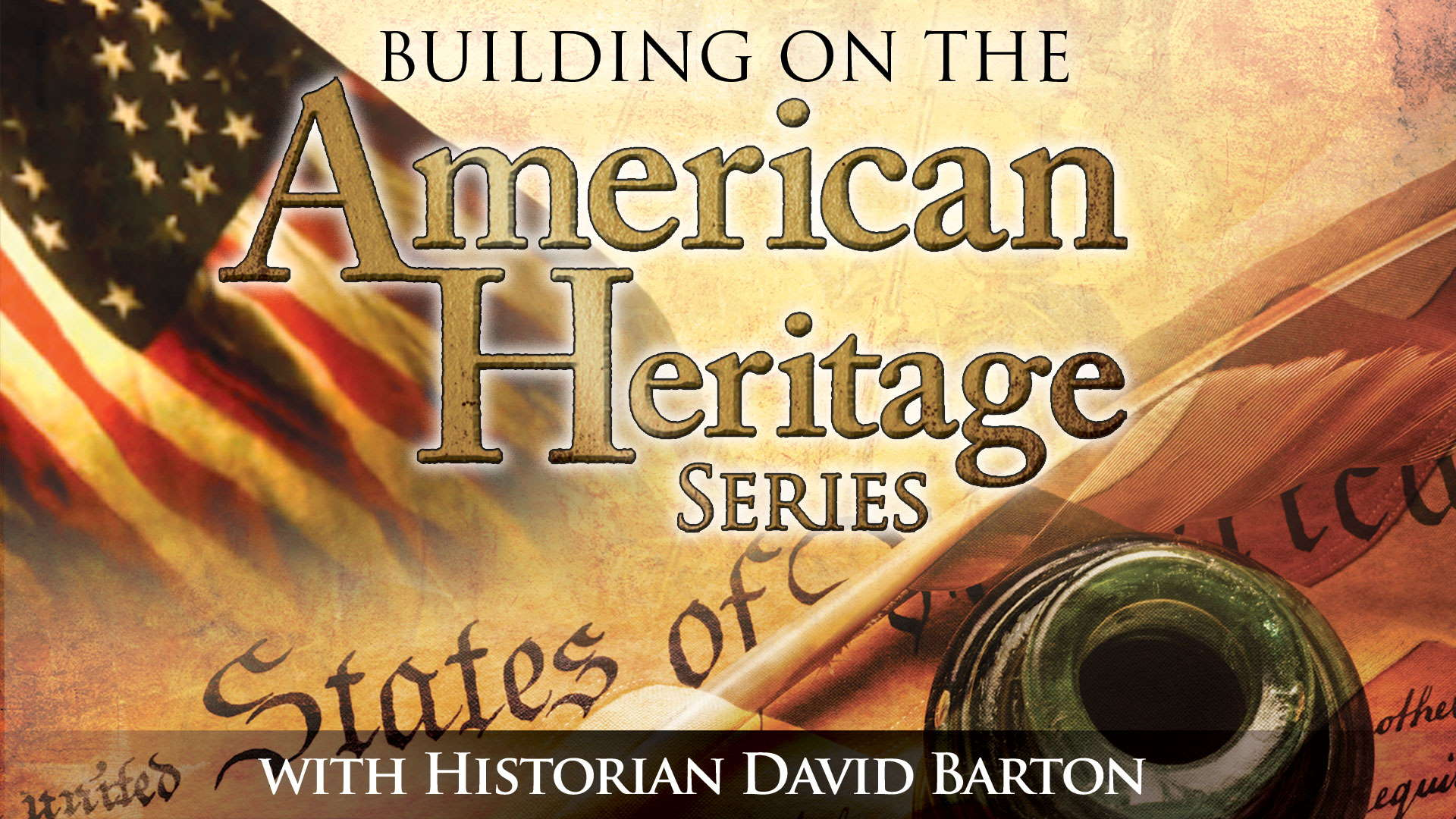 Building on The American Heritage Series Ep 9: Remarkable Young Americans