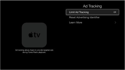 Apple TV Ad Tracking Page